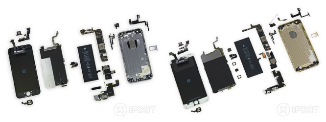 iFixit posts teardowns of iPhone 6, 6 Plus