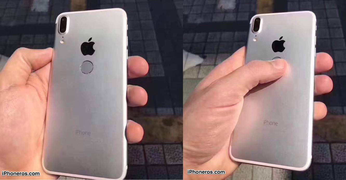 Last Week A Series Of Images Released By IPhoneros Appeared To Show An IPhone Prototype With The Touch ID Fingerprint Scanner Embedded In Back