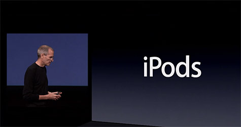 Apple posts stream, podcast of Fall 2010 iPod event 1