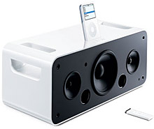 iPod Hi-Fi speaker system unveiled 1