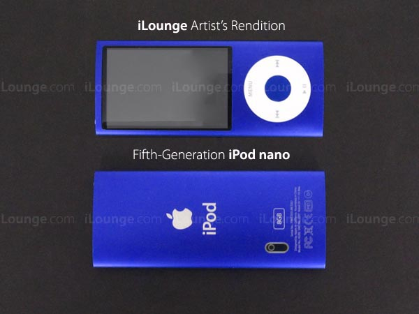 iPod nano 5G, Next-Gen iPhone Design Changes Revealed? 1