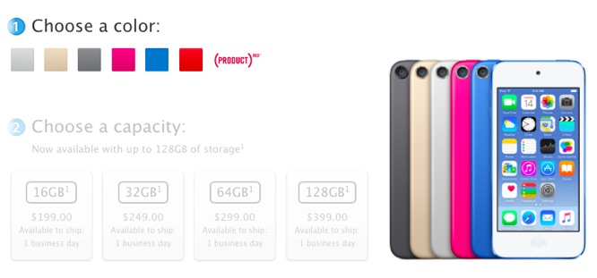 Apple unveils new iPod touch, new nano and shuffle colors 1