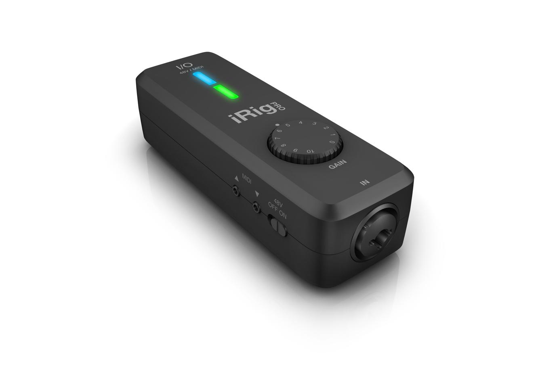 IK Multimedia announces iRig Pro I/O