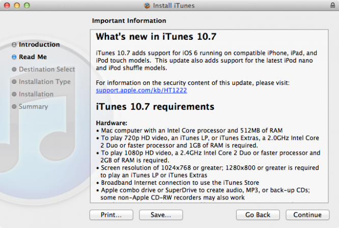 iTunes 10.7 becoming available via download 1