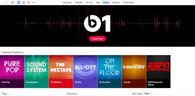 iTunes 12.2 release includes support for Apple Music