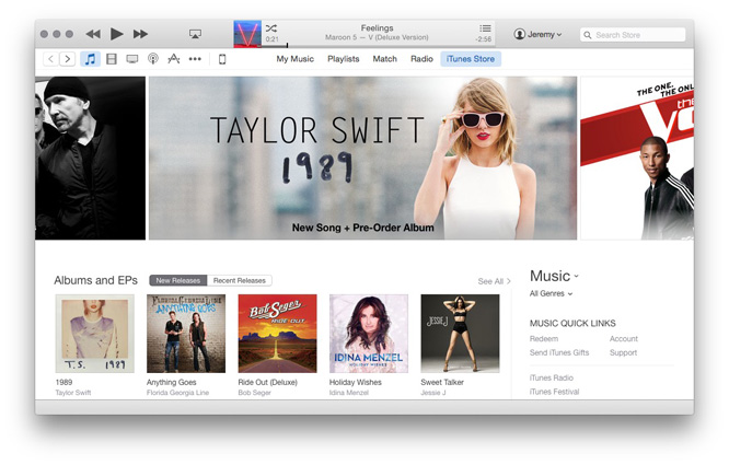 Apple formally debuts iTunes 12 after three months of betas 33