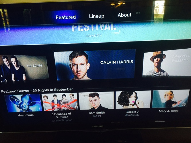 iTunes Festival channel returns to Apple TV 2