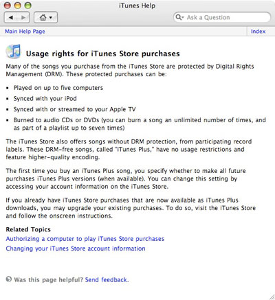 Apple releases iTunes 7 2, with iTunes Plus DRM-free music