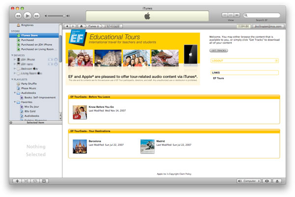 Apple adds private iTunes Store pages, displaying odd new touch device icon [updated] 1