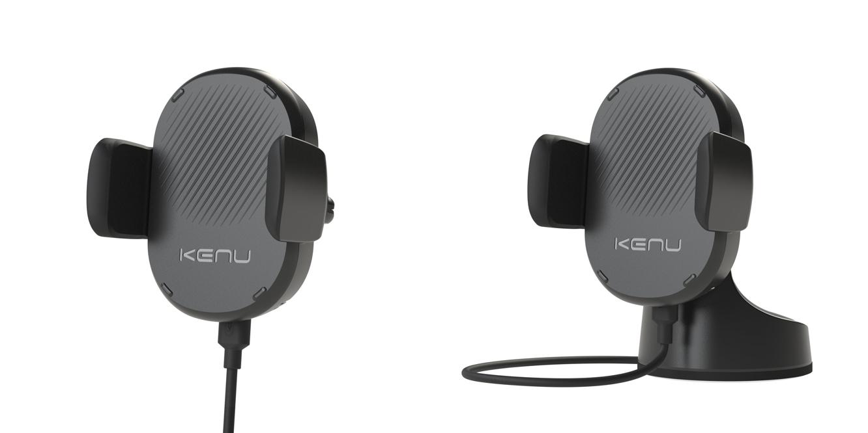 Kenu announces new wireless charging car mounts