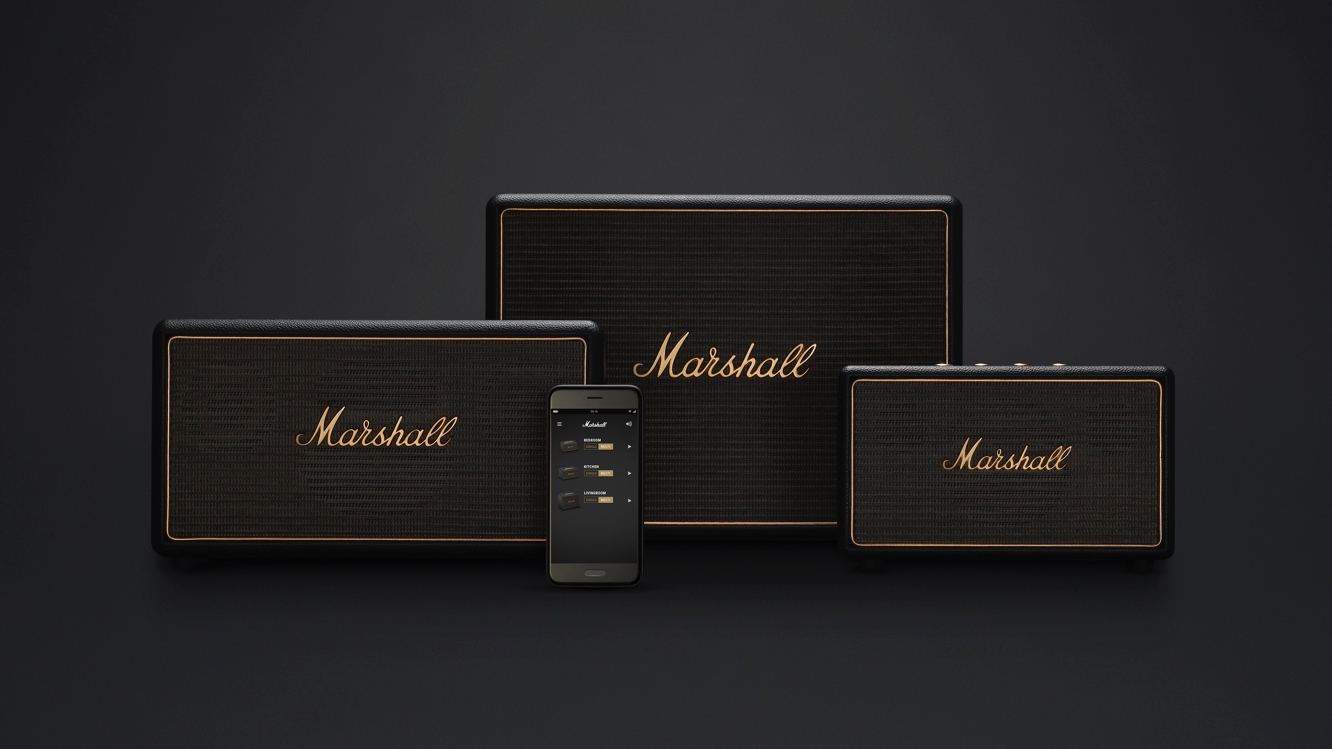 Marshall unveils Wireless Multi-Room Speaker System
