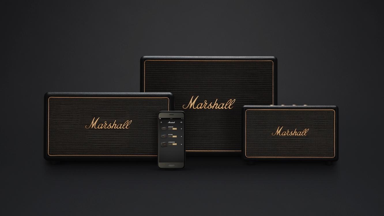 Marshall unveils Wireless Multi-Room Speaker System