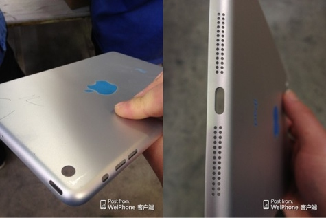 Next iPad mini shell photos leaked? 1