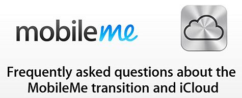 Apple posts MobileMe to iCloud FAQ 1