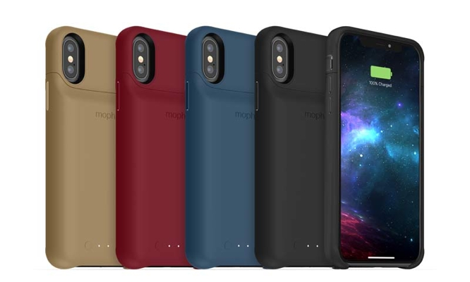 ce994411d54 Mophie has unveiled an updated version of its classic juice pack battery  cases for Apple s latest iPhone lineup. The new juice pack access cases are  ...