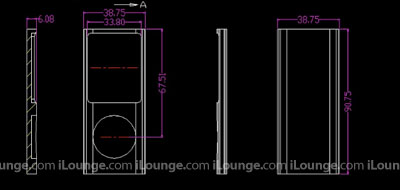 iPod nano 4G, touch 2G dimensions revealed? 1