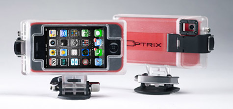 Optrix unveils HD Sport Mount for iPhone, iPod touch 1