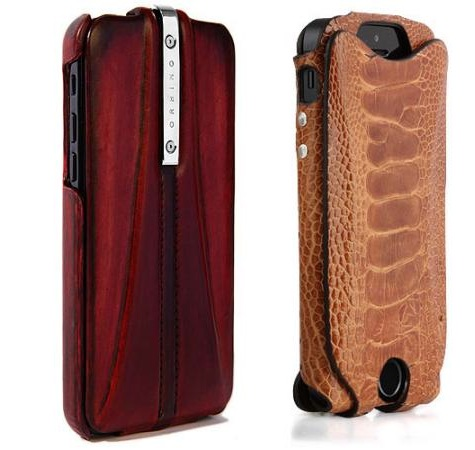 iPhone 5c/5s cases: Orbino's Patine, Pantera + iSkin's exo 1