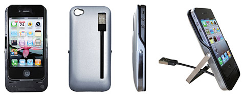 Oyama intros Protect, Power + Sync case for iPhone 4 1