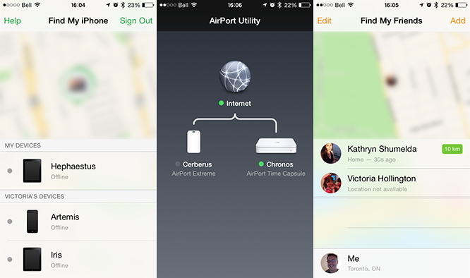 First-party Apple apps updated en masse for iOS 8