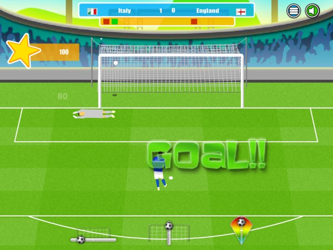 iLounge Game Spotlight: Final Kick, Penalty Cup Soccer 2014 + Pixel Cup Soccer