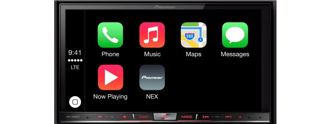 Pioneer NEX in-dash receivers support CarPlay with firmware update