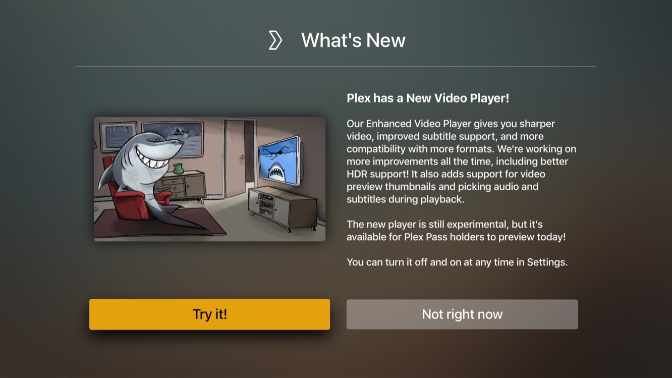 Plex begins rolling out Enhanced Video Player in Apple TV and iOS apps