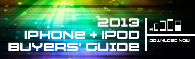 Download Now: iLounge's 2013 iPhone + iPod Buyers' Guide 1