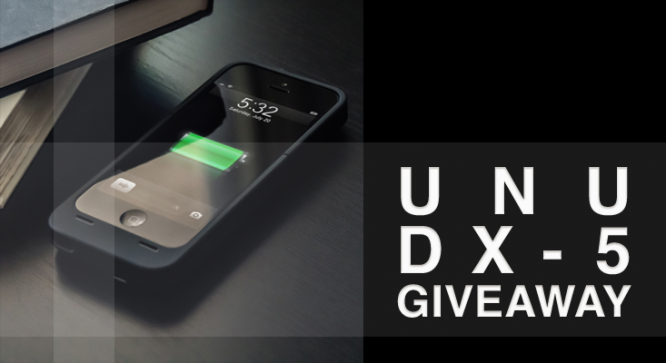 Unu DX-5 Battery Case Giveaway - Winners Announced