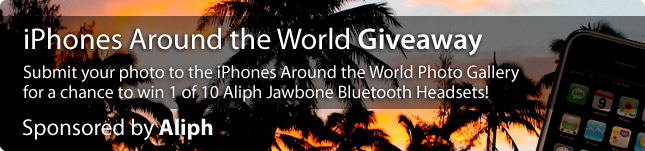 iPhones Around the World Giveaway - Winners Announced 1