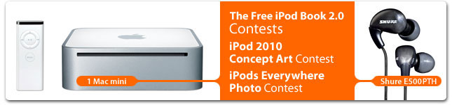 The Free iPod Book 2.0 Contest - iLounge