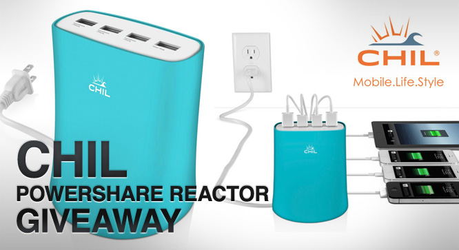 CHIL Powershare Reactor Giveaway - Winners Announced 30