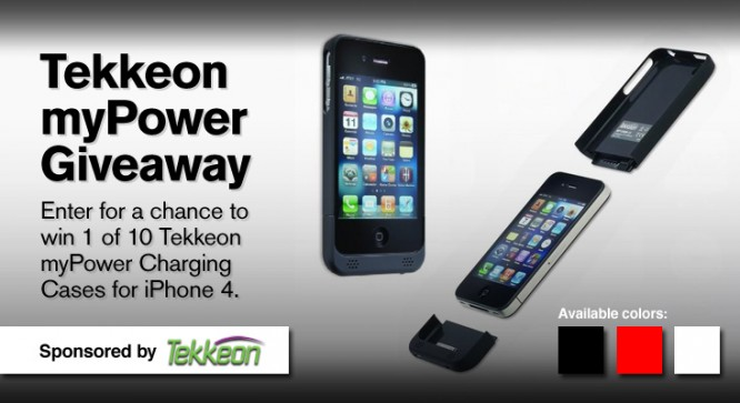 Tekkeon myPower Giveaway