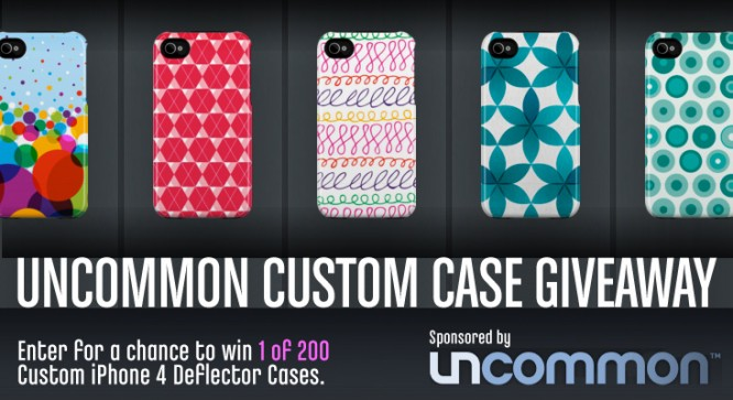 Uncommon Custom Case Giveaway