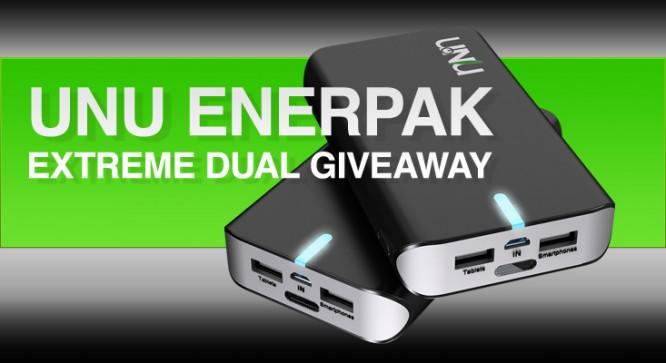 Unu Enerpak Extreme Dual Giveaway - Winners Announced 41
