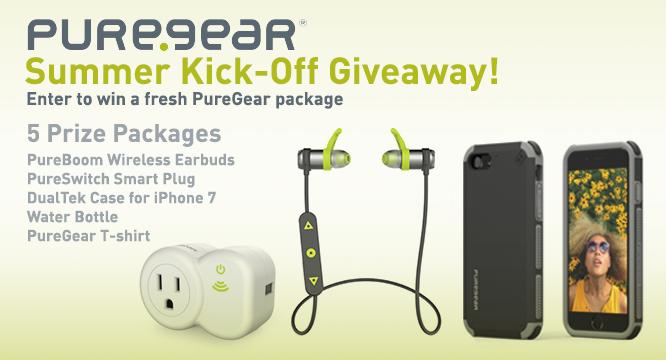 Enter our PureGear Summer Kick-Off Giveaway 6