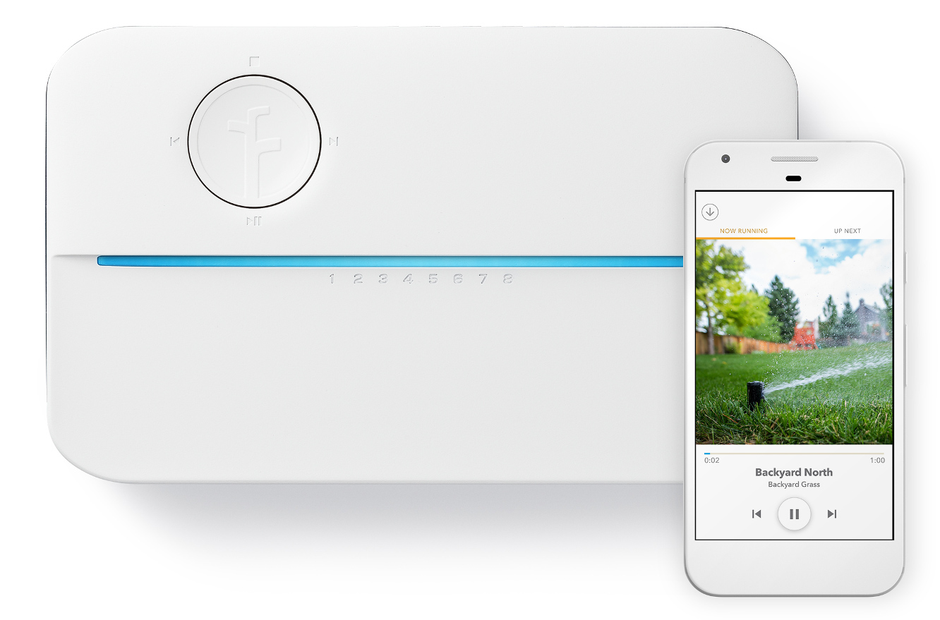 Rachio releases Smart Sprinkler Controller and Wireless Flow Meter 1