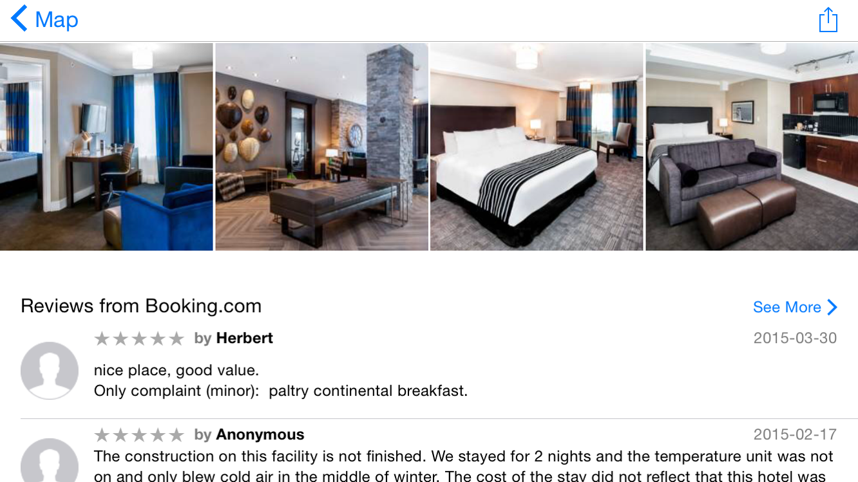 Apple Maps adds Booking.com and Trip Advisor reviews