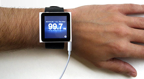 County Comm, iLoveHandles unveil watch bands for iPod nano 6G 1