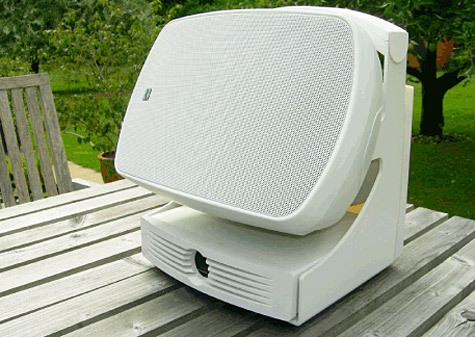 Russound AirGo uses AirPort Express for AirPlay 1
