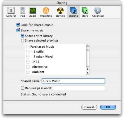 Beginner's Guide to Sharing iTunes Music 1