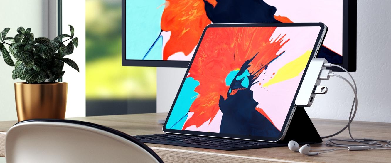 Satechi announces Aluminum Type-C Mobile Pro Hub for iPad Pro