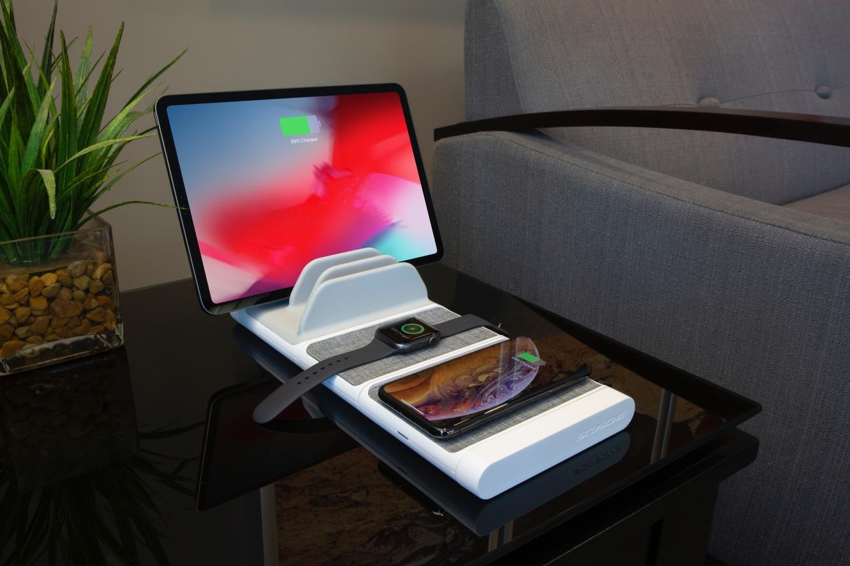 Scosche unveils BaseLynx modular charging system