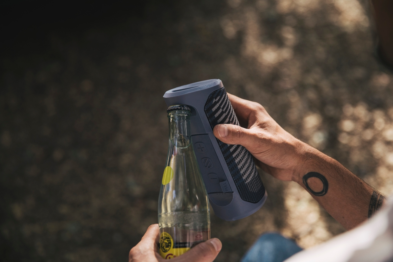 Scosche announces availability of BoomBottle MM rugged speaker 1