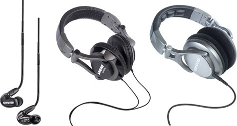 Shure outs new earphone, headphones at NAMM 2011 1