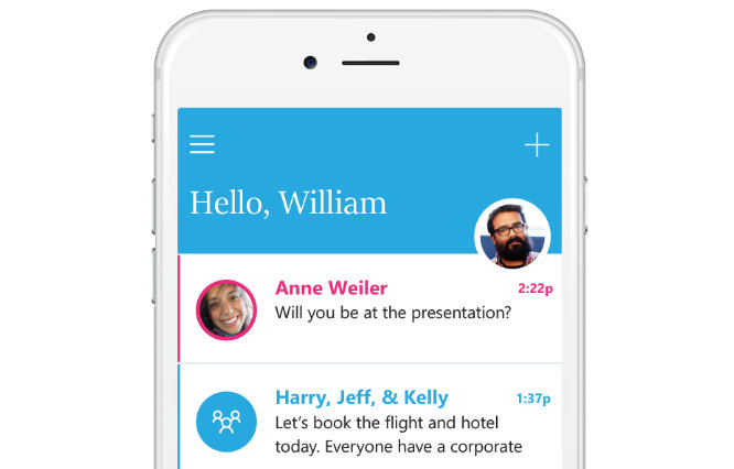 Microsoft releases email messaging app for iOS