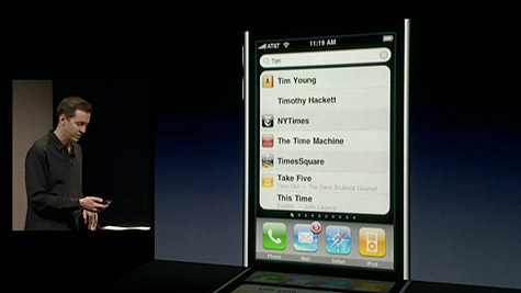 iPhone 3.0: Cut+Paste, Voice Memos, MMS, Search, and App Updates