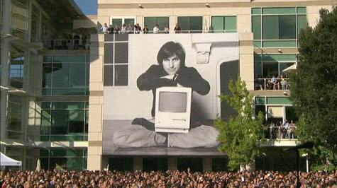 Apple posts video of Steve Jobs tribute event 1