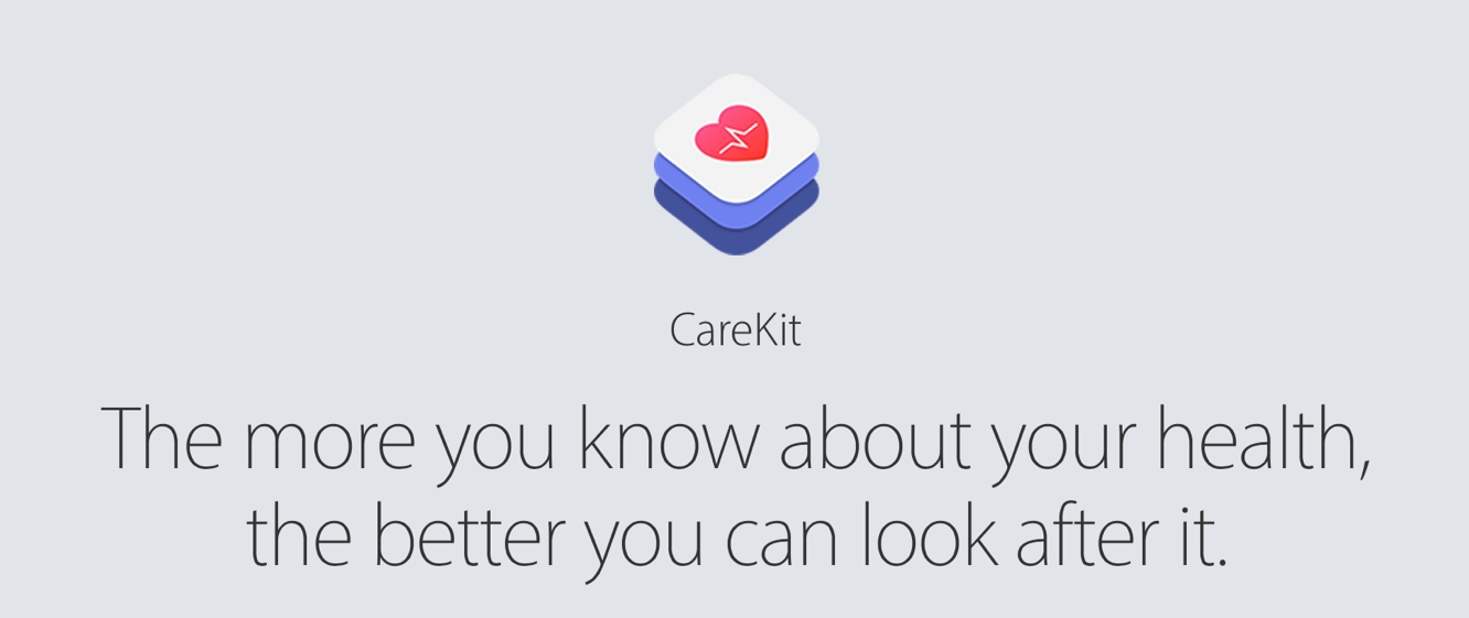 Apple launches CareKit, with four apps debuting today 1