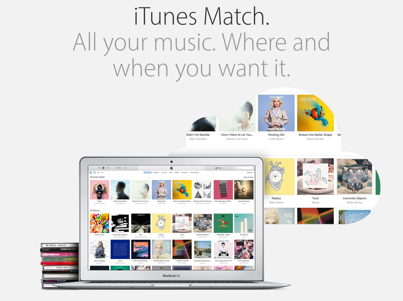 Apple bringing full iTunes Match capabilities to Apple Music subscribers